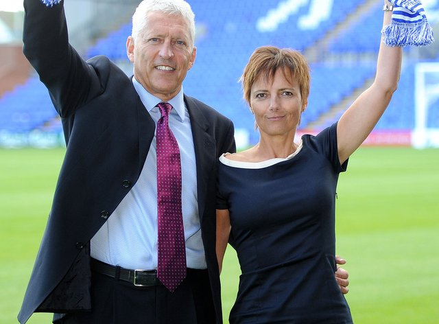 Tranmere co-owner Nicola Palios, right, has expressed scepticism about Project Big Picture plans