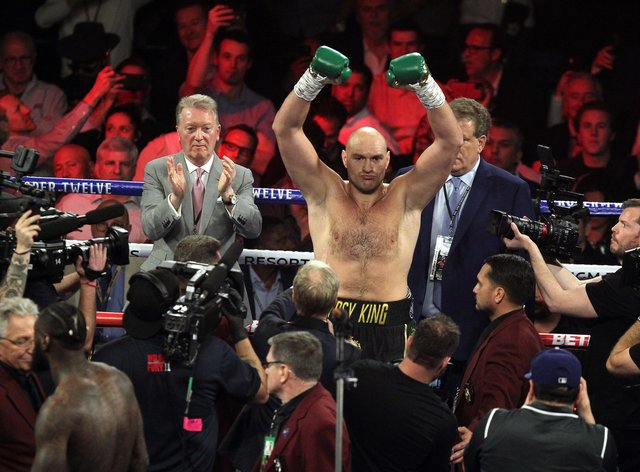 Fury is no longer fighting Wilder after the American's contractual right to a rematch expired