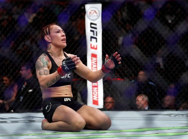 Cris Cyborg wants to fight Amanda Nunes again