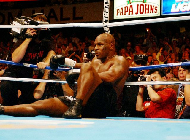 Tyson is due to return to the ring next month for the first time in 15 years