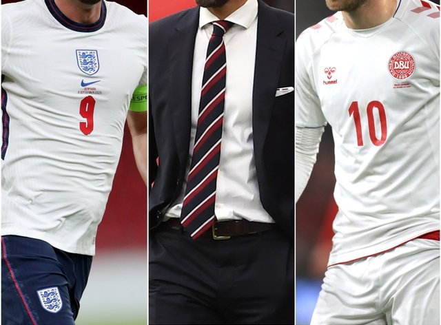England face Denmark in the Nations League on Wednesday night.