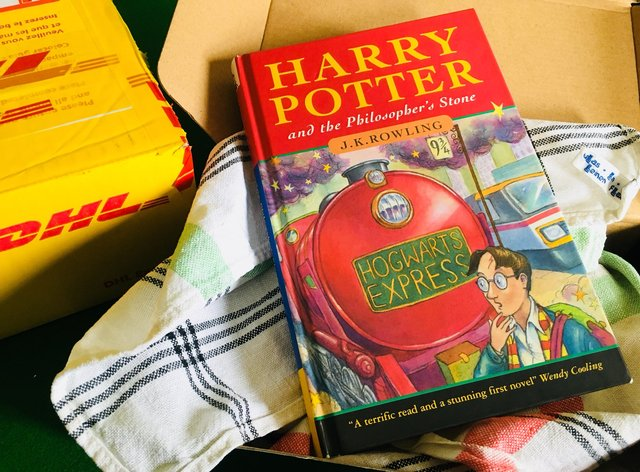 A rare Harry Potter first edition
