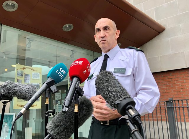 PSNI chief superintendent Simon Walls warned women in Belfast to be vigilant after three were stabbed in separate incidents