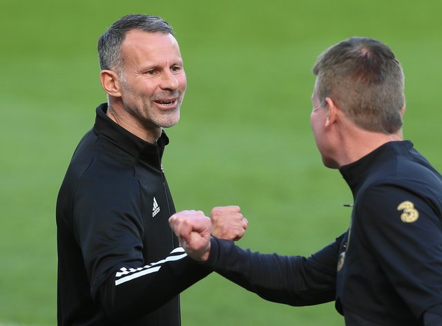 Wales manager Ryan Giggs (left) has not added to his squad after losing four players to injury and suspension