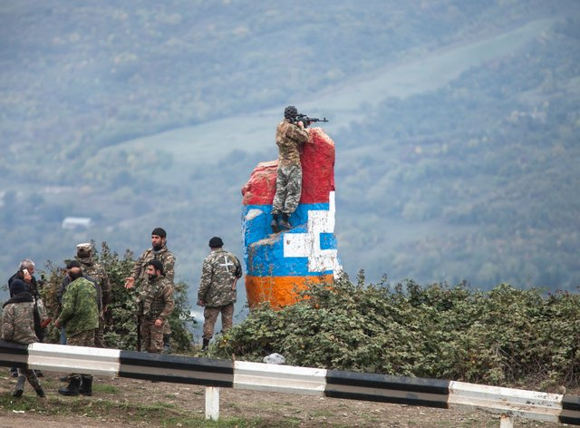 Armenia and Azerbaijan are locked in a deadly conflict