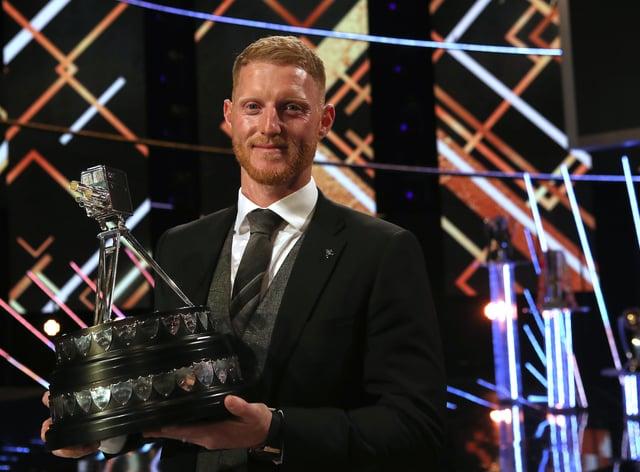 England cricketer Ben Stokes won the award last year