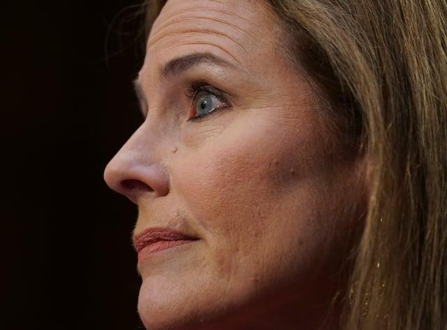 US Supreme Court nominee Amy Coney Barrett