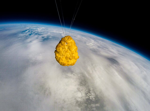 The chicken nugget in space