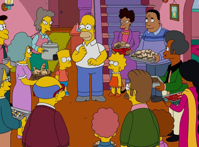 The newest episode of The Simpsons will be aired on Sunday