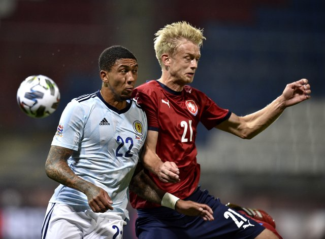 Scotland are back in action against the Czech Republic on Wednesday night