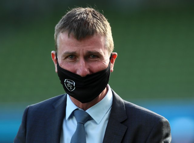 Republic of Ireland manager Stephen Kenny has admitted coronavirus is bigger than sport