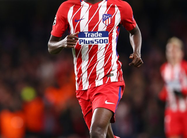 Thomas Partey was swapped Atletico Madrid for Arsenal this summer.