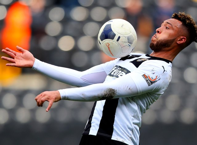 Kyle Wootton struck late winner for Notts County