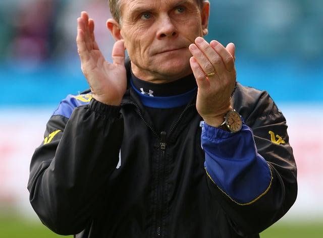 Dover manager Andy Hessenthaler