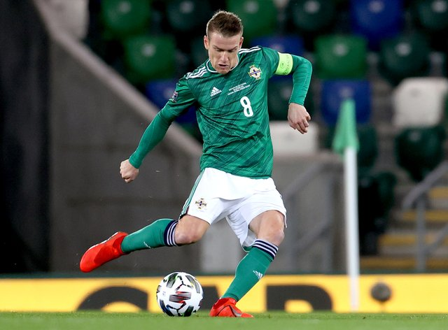 Steven Davis has his sights fixed on next month's play-off final against Slovakia