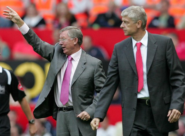Wenger and Ferguson were rivals for nearly two decades