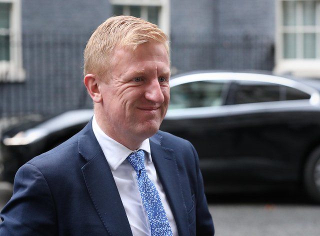 Oliver Dowden expressed a dim view of Project Big Picture proposals (Jonathan Brady/PA)