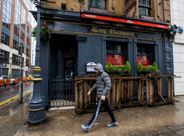 The Garrick Bar in Belfast