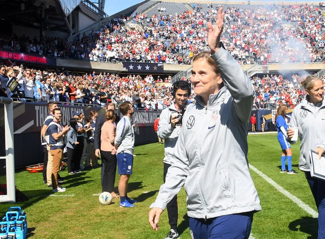 Ellis could become the first ever woman to manage in the MLS