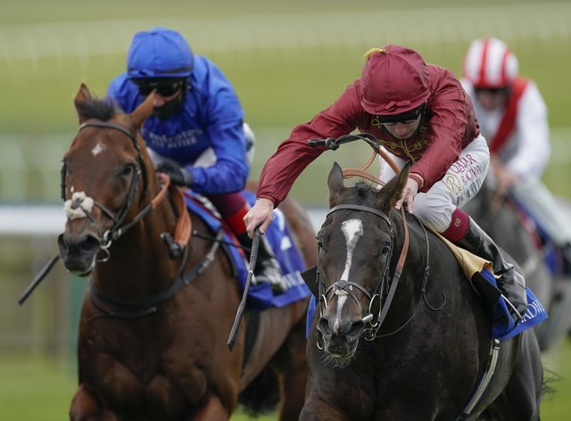 Kameko (right) will head straight to the Breeders' Cup meeting