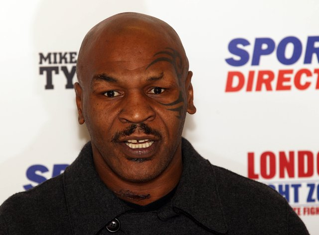 Tyson slurred his words throughout the interview with ITV on Tuesday