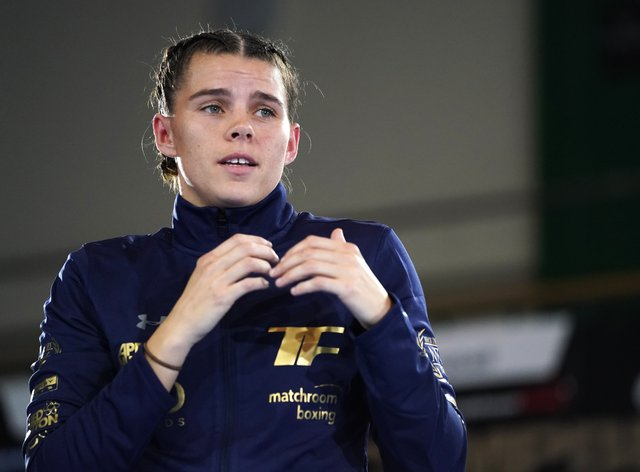 Savannah Marshall must wait for her shot at the vacant WBO middleweight title (Tess Derry/PA)