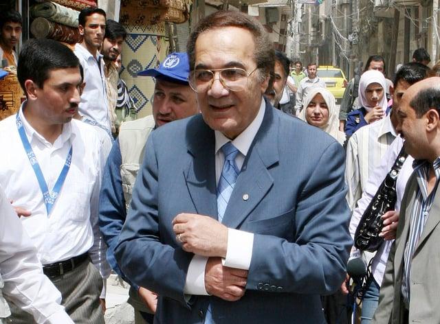Egyptian actor Mahmoud Yassin (Bassem Tellawi/AP)