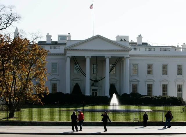 The White House, Washington DC (Andrew Parsons/PA)
