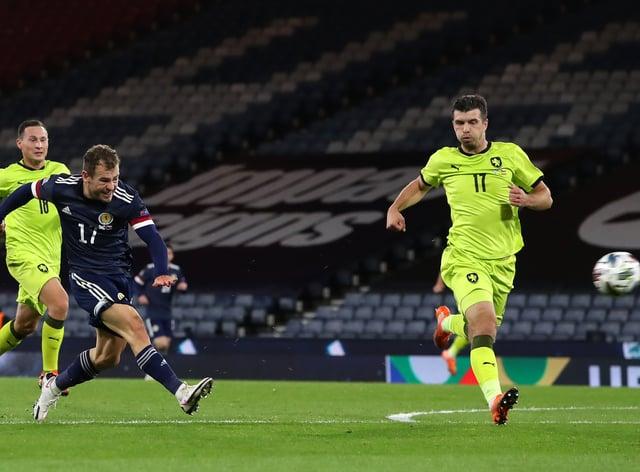 Ryan Fraser scored for Scotland