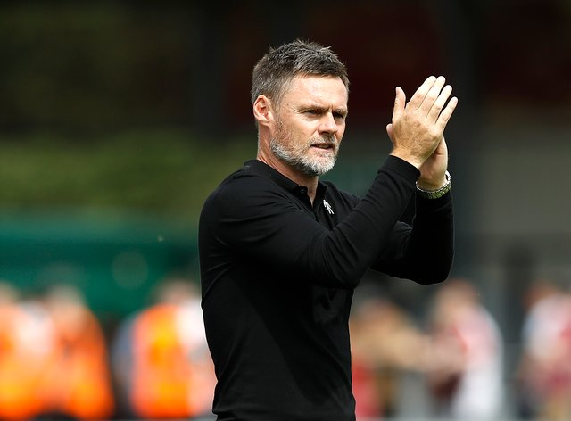 Ex-Salford boss Graham Alexander is proud of his record at the club.