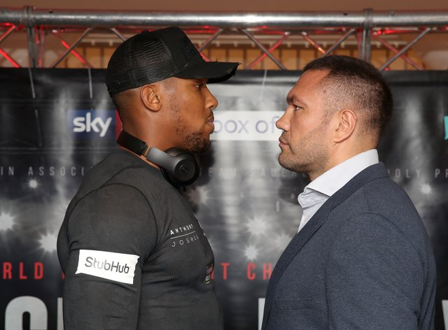 Joshua and Pulev are due to face off on December 12