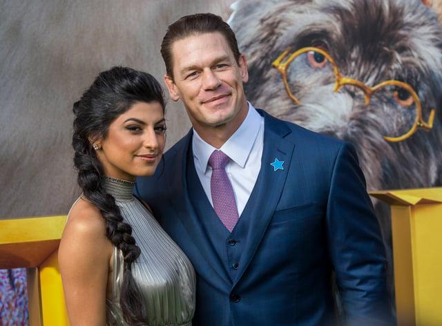 John Cena has married Shay Shariatzadeh