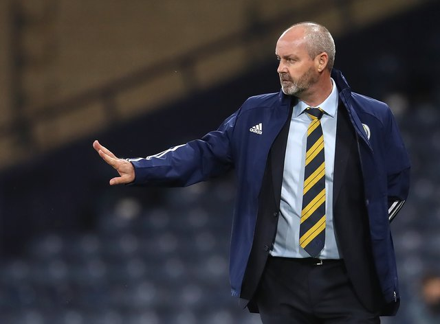 Scotland on the march with boss Steve Clarke