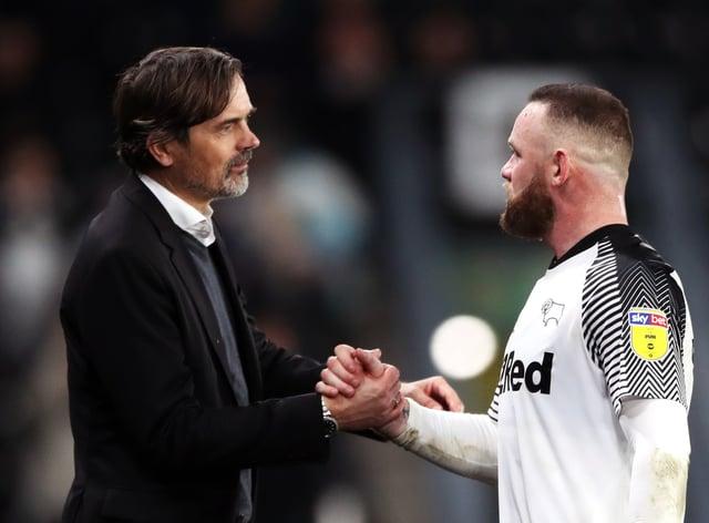 Wayne Rooney has been linked with Phillip Cocu's job