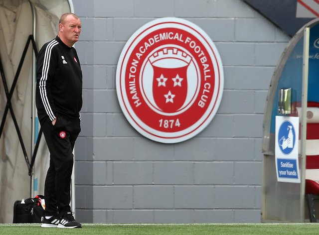 Scotland's form is fantastic says Hamilton boss Brian Rice
