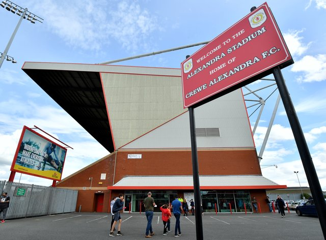Crewe are due to host Blackpool on Saturday