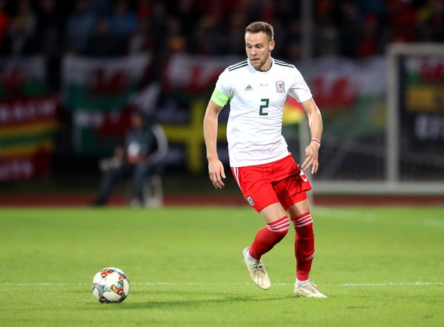 Wales defender Chris Gunter was released by Reading