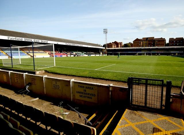 Southend United v Harrogate Town – Sky Bet League Two – Roots Hall