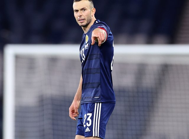 Andy Considine made his Scotland debut at the age of 33
