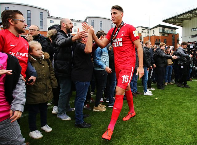 Dan Happe is back from suspension for Leyton Orient