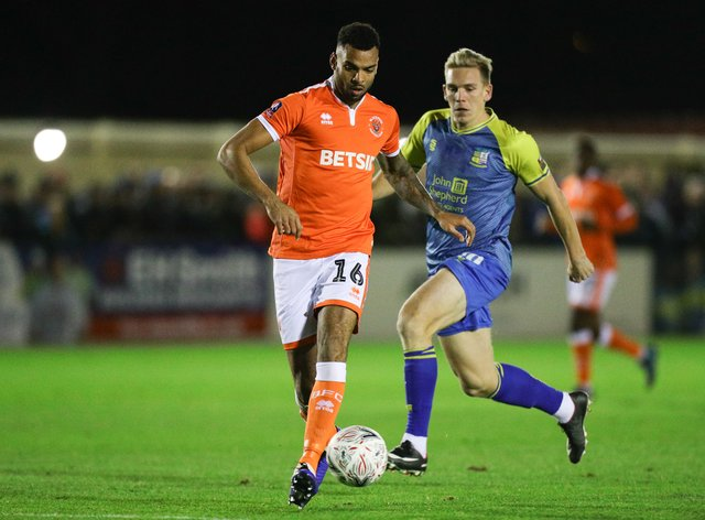Curtis Tilt, left, has played just once for Rotherham following his move from Blackpool