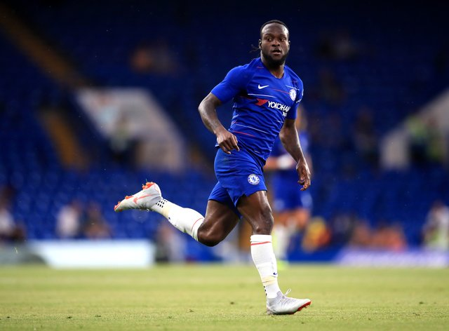 Victor Moses has completed a loan move to Spartak Moscow