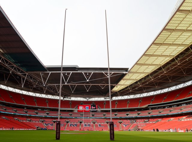 Wembley will be empty for Saturday's final