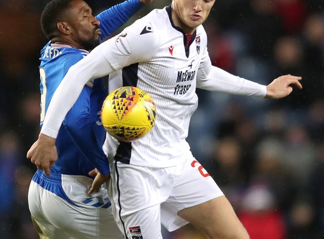 Ross County's Coll Donaldson (right) admits his side are leaking too many goals