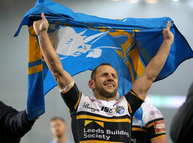 Rob Burrow will take on a special role on Saturday