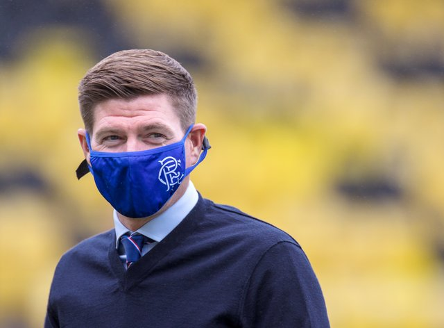 Rangers manager Steven Gerrard is willing to live with the risk of his players catching Covid-19 on international duty