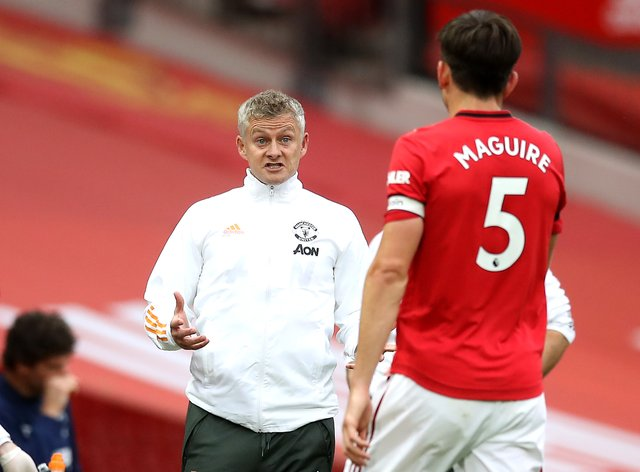 Harry Maguire retains Ole Gunnar Solskjaer's support