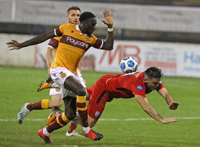 Motherwell's Bevis Mugabi is out for up to six weeks