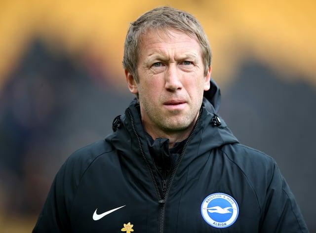 Brighton boss Graham Potter signed Switzerland Under-21 striker Andi Zeqiri earlier this month