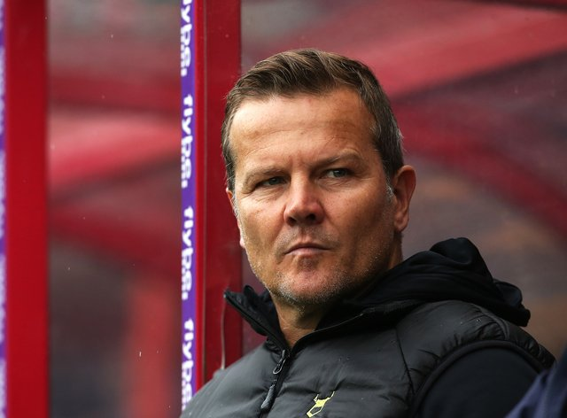 Forest Green Rovers manager Mark Cooper saw his side win 4-1 away at Scunthorpe last time out